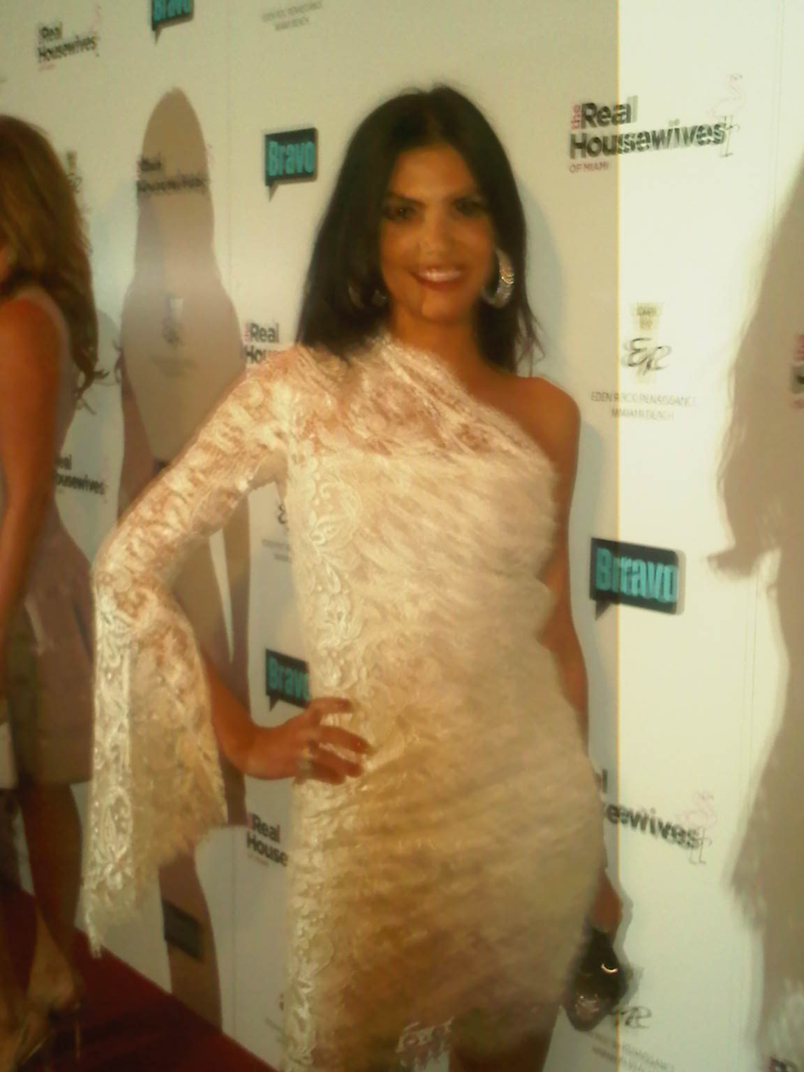 AdrianaDMoura-RedCarpet-dress by TheWebsterMiami-shoes by SergioRossi 02.21.11