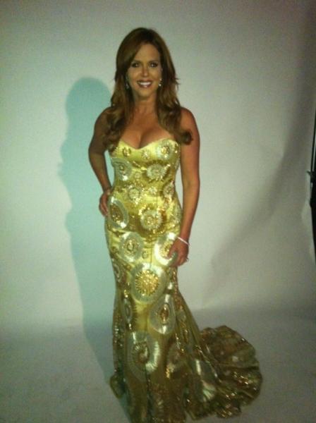 Alma Awards 2011 Los Angeles -MC dress by Rafael Cennamo