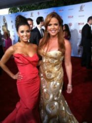 MC and Eva Longoria Red Carpet Alma Awards 2011 in LA 09.10.11