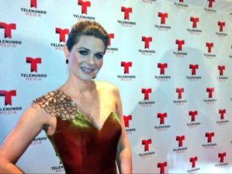 Sonia Smith-dress by Jovani-NY Upfront NBC6 Telemundo 05.14.13 - 1